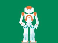 Flat Nao Robot