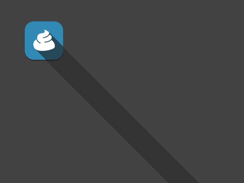 Probably the longest shadow (you cant even see where it ends!) long shadow icon blue grey ihatelongshadows funny shit