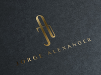 Jorge Alexander Fashion Label Logo