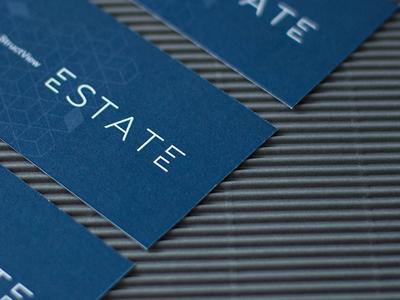 StructView Estate Branding estate architecture minimal stachecka card business branding