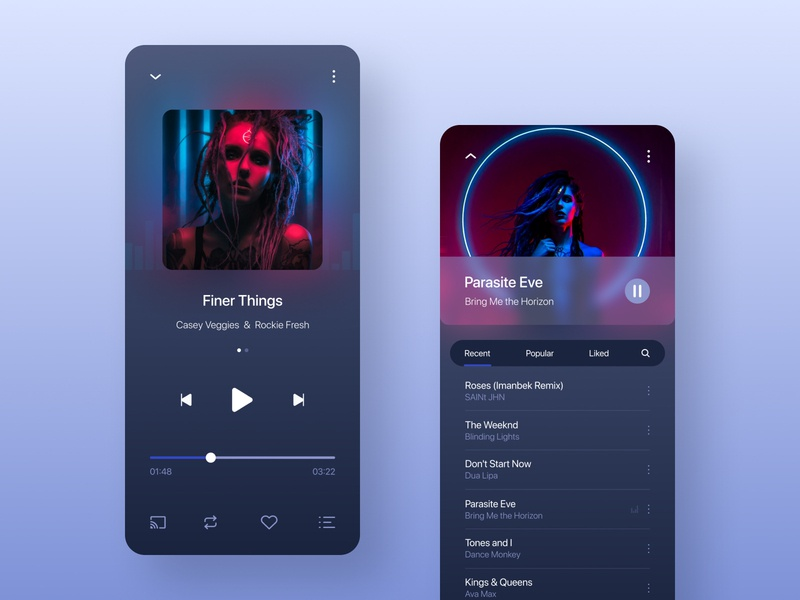 Music player iphone app uiuxdesigner uidesign music app ui audio app ios design music player ios app design app design app design app design ux ui