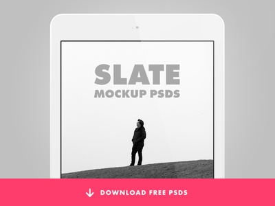 Slate Collection - Apple Product PSD Templates