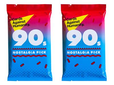 Cards Against Humanity Printed 90s Packs
