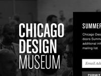 CHIDM Chicago Design Museum