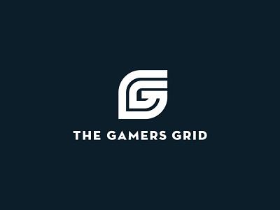 The Gamers Grid gamer logo gamers video game logo video game branding logo design logo