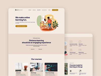 Online Courses - Website Design diversity webflow web design