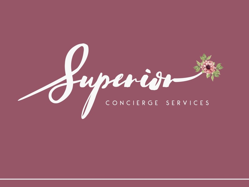 Superior Concierge Services - Logo Design logo design