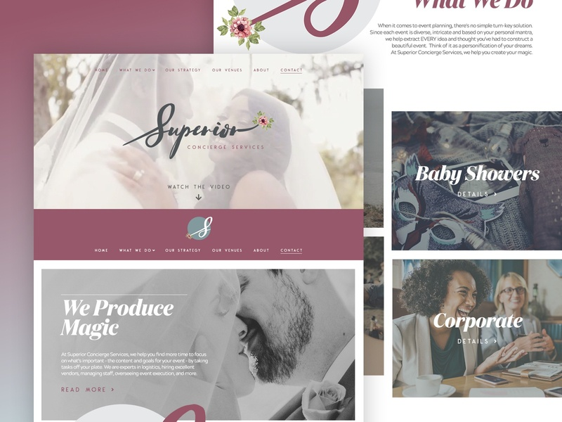 Superior Concierge Services - Web Design web design