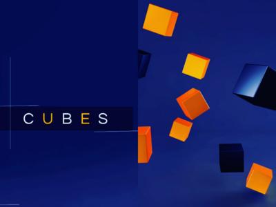 Cubes ,Lights & Render