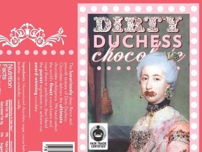 Dirty Duchess Chocolate Bar (Madame Strawberry)