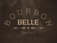 Bourbon Belle - playing around with some logos