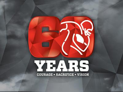 NFLPA 60th Anniversary Logo logo anniversary 60th anniversary nflpa