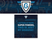 Grayson Super Power Decals