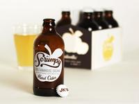 Scrumpy Cider Packaging