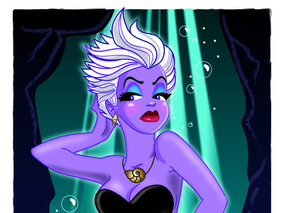 Ursula Pin Up