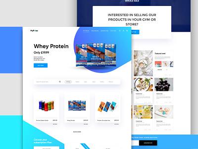 Website Design for Mypoise logo lettering minimal flat branding website ui design webdesign website ui design website design