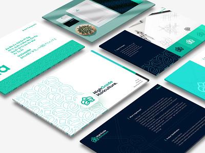 HighGrade Horiculture design web app identity lettering icon website typography branding illustration brand identity brand design