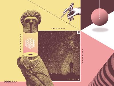 Tweek 6.5 | Poster series teamwork future design collaboration innovation wip process technology twilio tweek