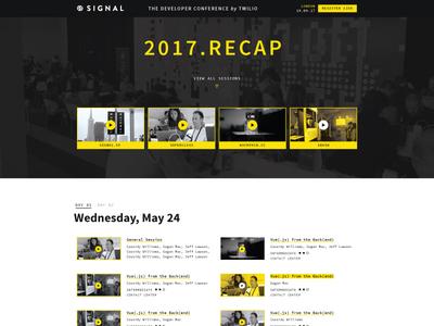 Signal 2017   Website