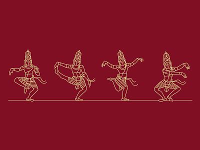 Karanas lord of dance nataraja shiva south india ancient bharathanrithya bharathanatyam dance karanas