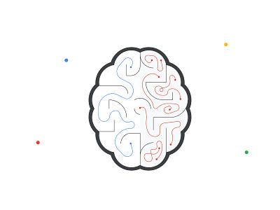 Cure Alzheimers (Foundation for Precision Medicine) ai ml brains health medicine dataforgood google cloud google illustration human nonprofit impact good data brain alzheimers