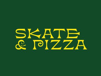 Logo Skate & Pizza