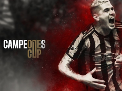 Campeones Cup match goal player thirsty thirsty agency intense futbol adidas champions cup campeones cup mls atlanta fc atlanta united soccer