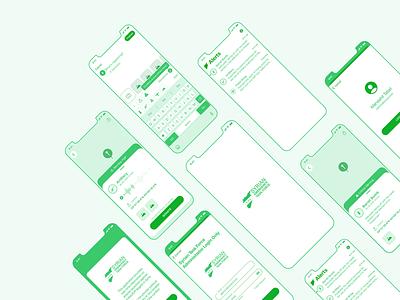 Syrian Emergency Task Force // Mobile App help volunteer support mobile ui mobile design mobile app mobile design app design app