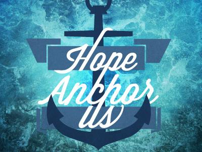 Hope Anchor Us shirt logo ocean