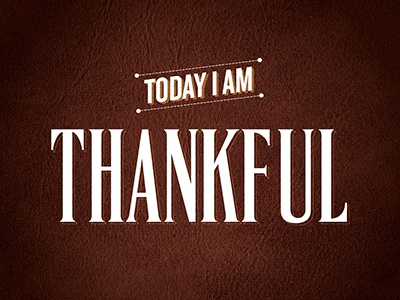 Thankful logo thanksgiving