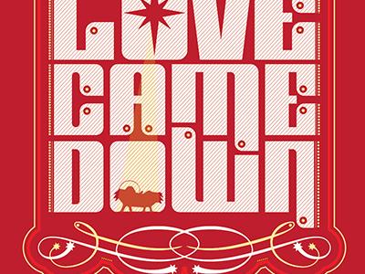Love Came Down 3 logo christmas