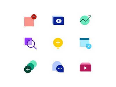 Spot Illustrations - Part I branding flat web icon vector illustration design