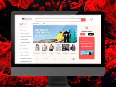 AliXpress Multivendor marketplace wordpress ecommerce website