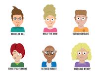 Customer Characters - Zipments