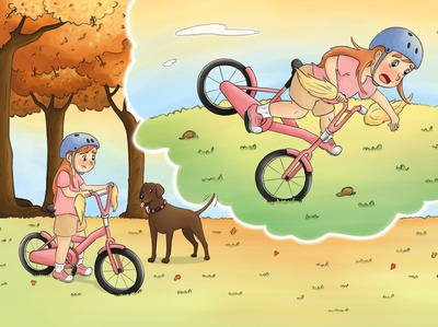 """""""No, She Can't"""" photoshop art illustration illustration digital painting digital painting book children book illustration childrens book"""
