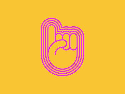 Pointy Boi finger hand illustration internship