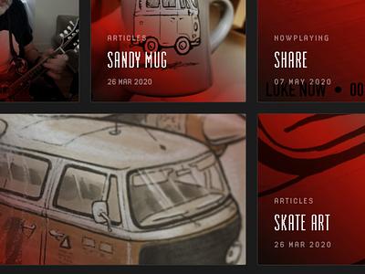 Launched! website design typography sketch illustrator illustration branding design