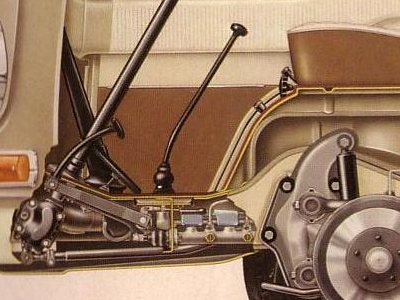 special project illustration vw profile diagram image cutaway