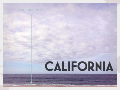 Place Without A Postcard postcard rebound california mostra