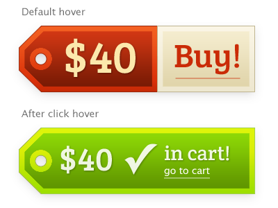 Price tag store cart tag buy button product add to cart price tag