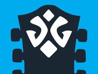 Guitar Headstock Logo Mark