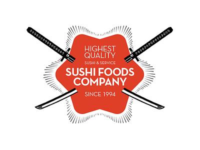 Sushi Foods Co catering restaurant sushi logo