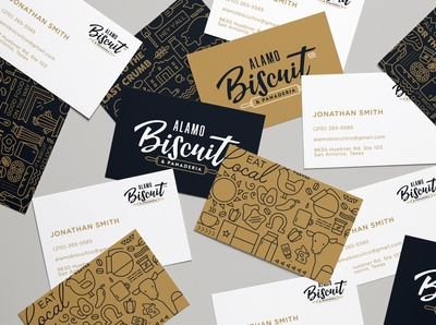 Alamo Biscuit Co Business Cards