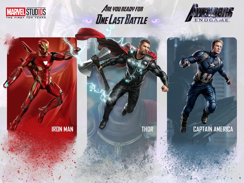 Fallen Avengers Endgame Card captain america thor iron man marvel avengers theme design thanos superheroes avengers-card ui design ux ui endgame avengers
