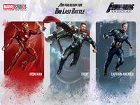 Fallen Avengers Endgame Card