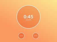 Daily Ui: Day 14 - Countdown Timer