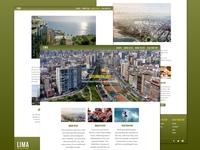 Lima, Peru - Travel/Tourism Website