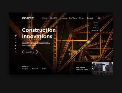 Web Design Construction (UX/UI Design)
