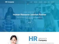 Job consultancy website template