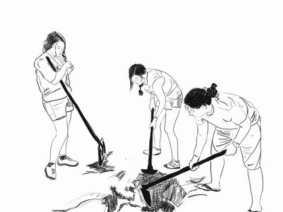 Plant a tree -girls power